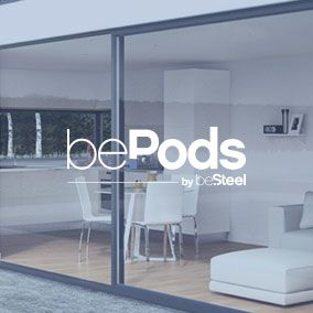 Did you ever dream about having a covered area in your garden? A private office, guest room, private gym, pool house... bePods designs