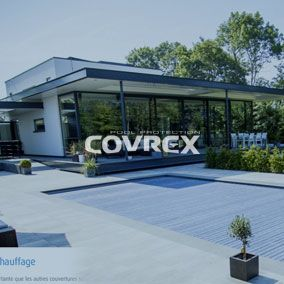 Covrex® Pool Protection is a belgian pool cover maker whose products are sold worldwide. Their new website allows them to improve their communication with their existing and future clients.