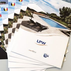 LPW Corporate is the mother company of the brands Vita Pools, LPW Ceramic Pools and Covrex® pool protection. In 2012, tix02 has created a brochure listing the prices of their various ranges of pools for them.
